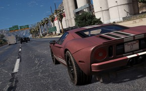 Picture Ford GT, Grand Theft Auto V, GTA V