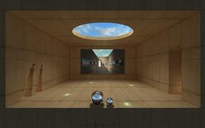 Picture design, balls, construction, hole, hidden Gallery