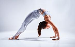 Picture female, yoga, pose, Pose technique
