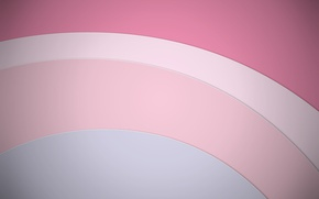 Picture circles, abstraction, geometry, design, color, material