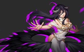 Picture demon, Overlord, devil, anime, pretty, asian, manga, japanese, oriental, asiatic, oppai, powerful, strong, sugoi, oni