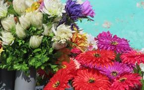 Picture different, artificial flowers, spring 2018, Meduzanol ©