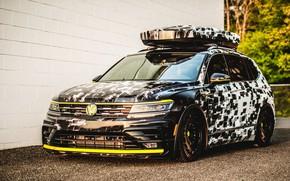 Picture Concept, Volkswagen, 2018, Aero, Tiguan, R-Line