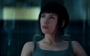 Wallpaper cinema, film, manga, Major, brunette, Ghost in the Shell, movie, cyberpunk, anime, mecha