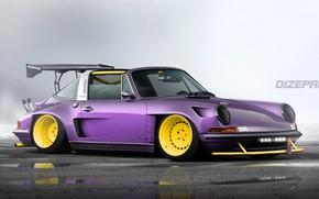 Picture Auto, Porsche, Tuning, Porsche, Car, Car, Auto, Tuning, DizePro