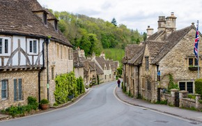 Picture Home, Castle Combe, England, Village