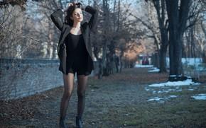 Picture face, hair, beauty, walk, legs, Ester