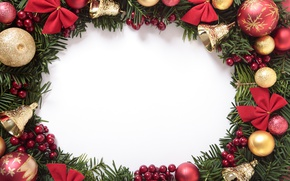 Picture New Year, Christmas, merry christmas, decoration, xmas, frame