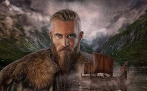 Picture Viking, Drakkar, Art Edit, Vikings Ragnar Lothbrok, Vikings Ragnar Lodbrok