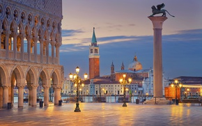 Picture city, the city, Italy, Venice, Italy, panorama, Europe, view, Venice, cityscape, travel, Piazza San Marco, ...