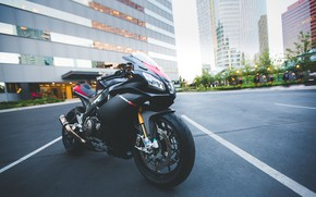 Picture design, background, motorcycle