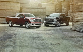 Picture Nissan, pickup, Nissan, Titan, Titan