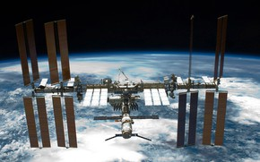 Wallpaper Earth, ISS, the view from the space Shuttle endeavour, photo, planet, NASA