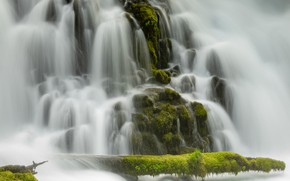 Picture waterfall, power, threads