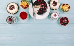 Picture cake, cake, dessert, sweet, cupcakes