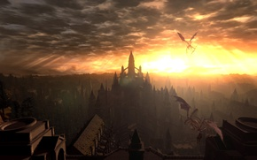 Picture from software, Anor Londo, DARK SOULS Prepare To Die Edition