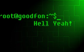 Picture green, goodfon, green, console, goodfon, console, root, Ruth
