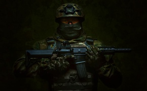Wallpaper soldiers, army, Russia