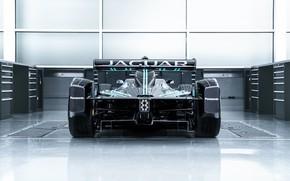 Picture Jaguar, rear view, wing, 2016, Formula E, I-Type 1