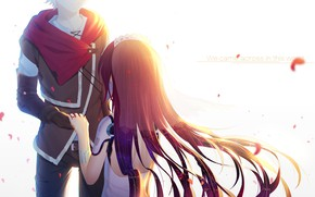 Picture girl, Guy, Pair, No game No life