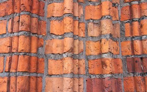 Picture background, wall, brick