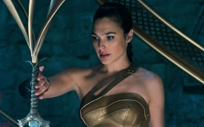 Picture cinema, sword, Wonder Woman, movie, ken, blade, film, Gal Gadot