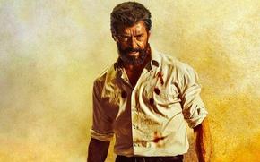 Wallpaper cinema, film, Logan, blood, X-Men, Hugh Jackman, Wolverine, movie, Marvel, man