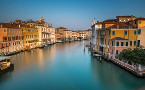 Picture Italy, Venice, channel, Italy, Venice, cityscape, Panorama, channel, Grand Canal