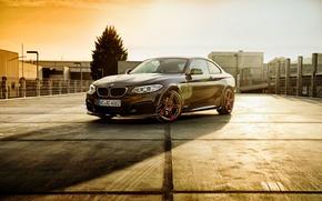Wallpaper F22, 2-Series, BMW, Coupe, Black