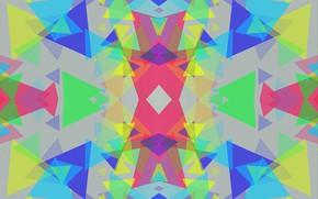 Picture colored, figure, different
