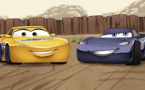 Picture car, Cars, animated film, animated movie, Cruz Ramirez, by enara123, MqQueen