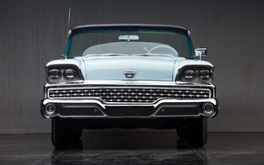 Picture convertible, retro, 1959, Ford Galaxie Skyliner