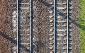 Picture background, rails, railroad