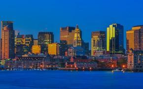 Picture the city, the building, USA, Boston, Boston