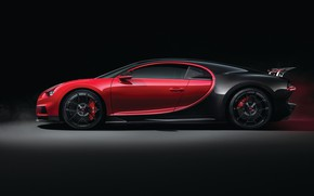 Wallpaper Sport, Bugatti, side view, 2018, Chiron