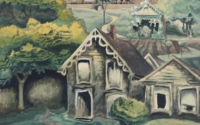 Picture 1918, A Small Town, Charles Ephraim Burchfield