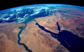 Wallpaper space, earth, Egypt, Africa