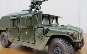 Picture Combat wheeled armored vehicle, War Machine, Hummer armored