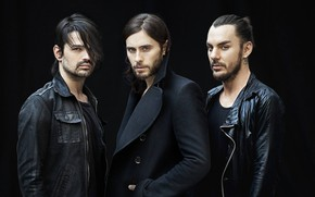 Picture Jared Leto, 30 Seconds to Mars, Shannon Leto, Jared Leto, Tomislav Milicevic, Shannon Leto, Tomislav …