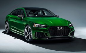 Picture Audi, front view, RS5, Sportback, RS 5, 2019