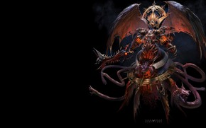 Picture ART, ANIME, Demon Lord, FANTASY, Yu Cheng Hong, Atlantis online