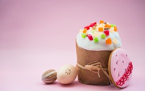 Picture eggs, cookies, Easter, cake, cake, spring, Easter, eggs, decoration, Happy