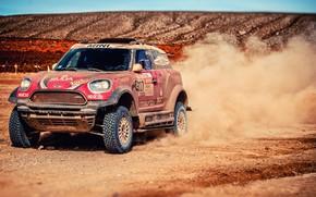 Picture Sand, Mini, Dust, Sport, Speed, Race, Rally, Dakar, Dakar, SUV, Rally, X-Raid Team, MINI Cooper, …
