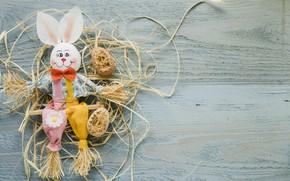 Wallpaper spring, decor, wood, Easter, rabbit, Easter, rabbit, holiday, eggs