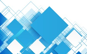 Wallpaper blue, background, vector, geometry, abstraction, abstract, squares