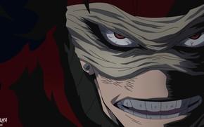 Picture anime, art, killer, Boku no Hero Academy, My heroic academia