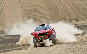 Picture Sand, Mini, Sport, Desert, Speed, Rally, Dakar, Dakar, Rally, The front, Buggy, Buggy, X-Raid Team, …