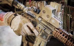 Picture gun, soldier, weapon, assault rifle