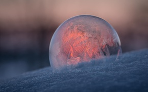 Picture pattern, ball, frost, bubble