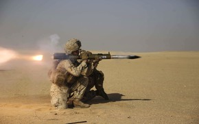 Picture soldiers, anti-tank grenade launcher, M72 LAW